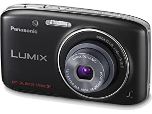Panasonic Lumix S2 14.1 MP Digital Camera with 4x Optical Zoom (Black)
