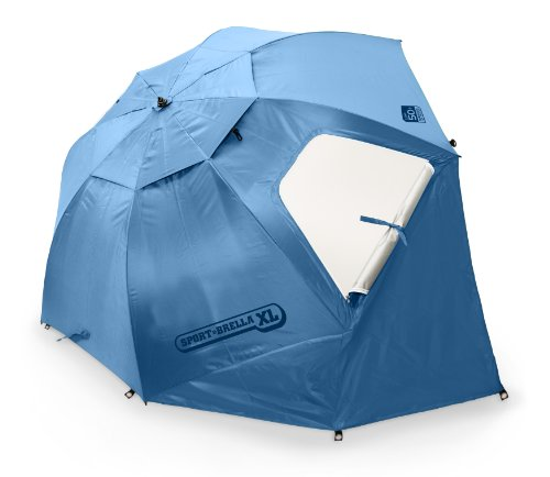 Umbrella shade tent
