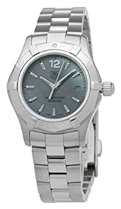 TAG Heuer Women's WAF1417.BA0823 Aquaracer Blue Mother-of-pearl dial Watch from TAG Heuer