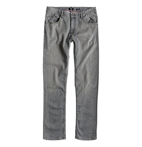 DC Shoes -  Pantaloni sportivi  - diritto - Uomo Gris / Noir / Blanc 48