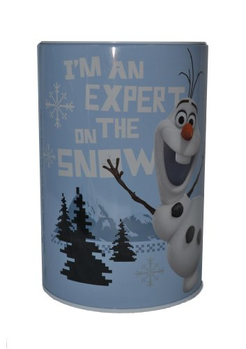 Officially Licensed Disney Frozen Tin Saving Bank (Olaf) - 1