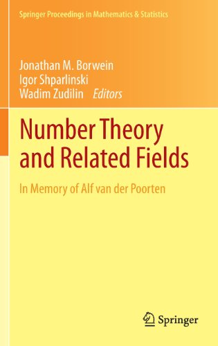Number Theory and Related Fields: In Memory of Alf van der Poorten (Springer Proceedings in Mathematics & Statistics