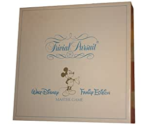 Trivial Pursuit Walt Disney Family Edition Master Game