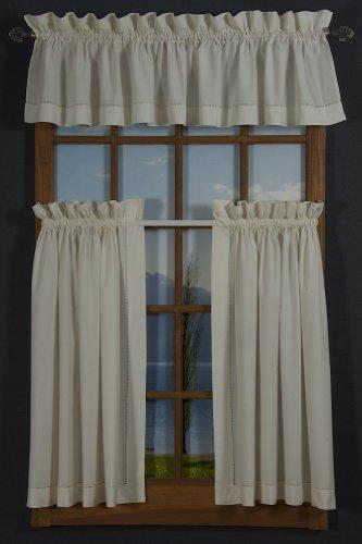 "D Kwitman white lace Point d/' Esprit Poly curtain door panel New 45 x 36 /"""