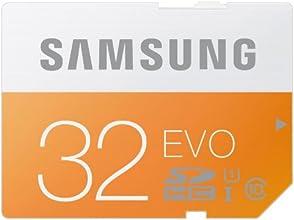 Samsung Evo MB-SP32D/EU - Tarjeta de memoria SDHC de 32 GB (UHS -I Grade 1, Clase 10)