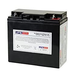 12V 18Ah NB AGM Battery replaces UT-12170, IM-12170, MX-12170, MX-12180, CP12180, CP12180D, CP12170, CP12170D, 6FM17-X, CP12180X, KB12170, RW12180, SLAA12-18NB, NPC17-12, NP18-12B, NP18-12B-HYC