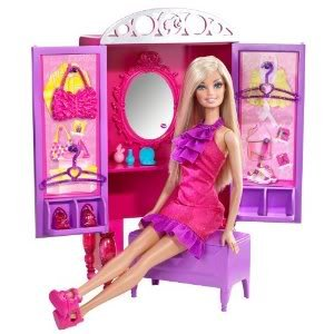 Special Barbie Dress-Up To Make-Up Closet Doll Set - Collection Is The Perfect Piece For Kids Toy / Game / Play / Child / Kid