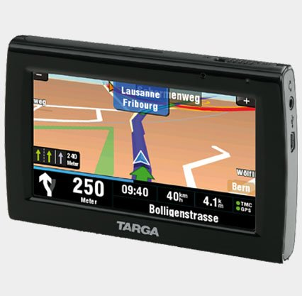 Navigationssystem Targa PNA-E4330T, mit TMC,