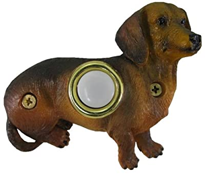 Company's Coming DBP-085 Dachsund Sitting Painted Doorbell Cover
