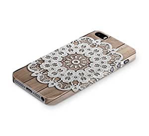 Cover Affair Mandala Printed Back Cover Case for Apple iPhone 5S