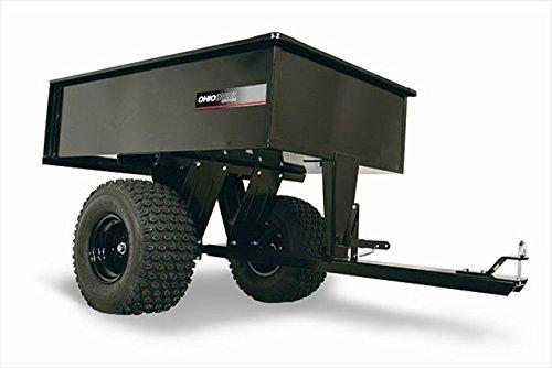 Ohio Steel Industries 3048H 10 Cu. ft. Welded Steel Dump Cart & 12 cu. ft. Heaped, 1000 lb. (Ohio Steel Dump Cart compare prices)