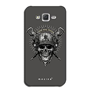 Mozine Terror Noise Division printed mobile back cover for Samsung galaxy j5