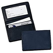 Royce Leather Deluxe Card Holder (Red)