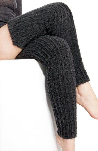 18 Inch Knee High Fuchsia Leg Warmers Fuchsia Stretchy, Soft & Warm High End Merino Wool Blend Stretch Knit Leg Warmers Made In Usa