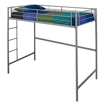 Fresh WE Furniture Metal Loft Bunk Bed Twin