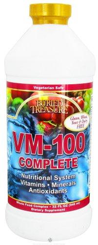 Buried Treasure Vm-100 Complete Liquid Vitamin - 32 Oz (Image May Vary)