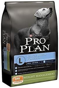 Purina Pro Plan Dry Dog Food, Focus, Adult Weight Management Large Breed Formula, 34-Pound Bag, Pack of 1