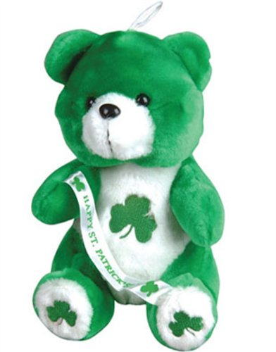Happy St Patricks Day Saint Patty's Irish Teddy Bear