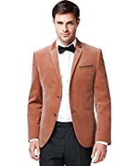 Limited Collection Pure Cotton Notch Lapel Jacket