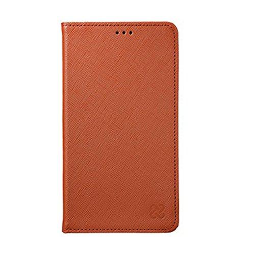 Galaxy S4 Limit Natural Leather リミット 天然 牛革 レザー スマホ 手帳型 フリップ ケース カバー ブラウン Brown ギャラクシー S4