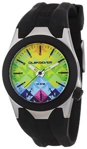 Quiksilver Y020BR 120T - Reloj analógico infantil de cuarzo con correa de poliuretano gris