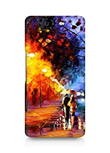 Amez designer printed 3d premium high quality back case cover for Micromax Canvas Knight A350 (Oil Painting 2)