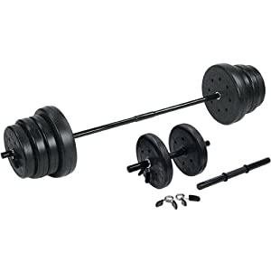 US Weight F0105E- 105-Pound Weight Set with Dumbbells from US Weight