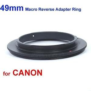 deep-deal Bague d'inversion macro 49mm pour CANON EOS