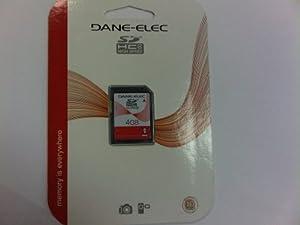 Dane Elec 4GB Class 4 SDHC Memory Card