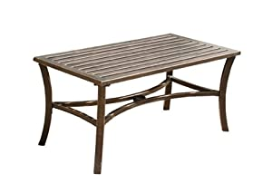 Gablemere Low Metal Table