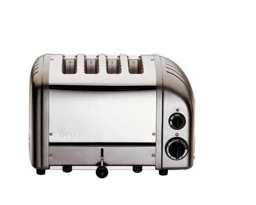 Dualit 2+2 Toaster Metallic Charcoal 42170