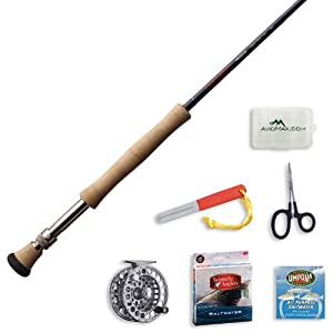 Redington Predator Fly Fishing Rod and Delta Reel Outfit-10wt 9ft 4pc (1090-4) by Redington
