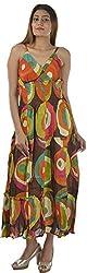 HotShot Women's Cotton V-Neck Dress (RH014, X-Large)
