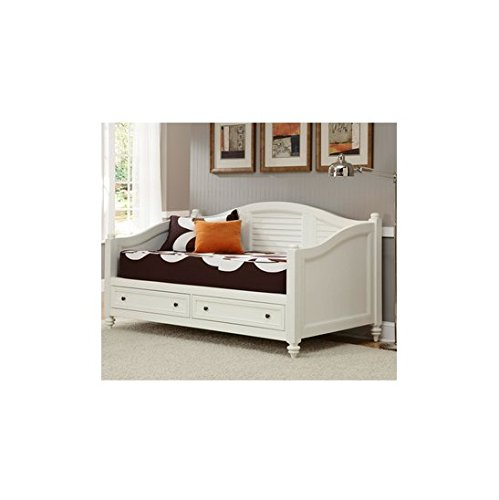 Bermuda Best Brushed White Finish Twin-size DayBed
