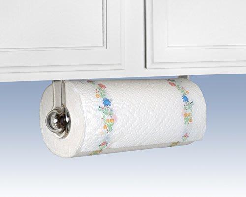 spectrum diversified wall mount paper towel holder clear new ebay. Black Bedroom Furniture Sets. Home Design Ideas