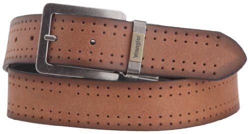 Wrangler - Cintura, uomo, Marrone (Braun (COGNAC 81)), 90 cm
