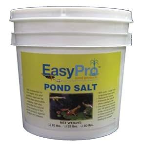Easypro eps50 pond salt 50 pound pail for Salt in koi pond