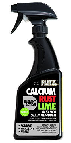 [해외]Flitz CR 01,606 인스턴트 칼슘, 녹, 라임 제거제, 16온스 /Flitz CR 01606 Instant Calcium, Rust and Lime Remover, 16 oz. Spray Bottle