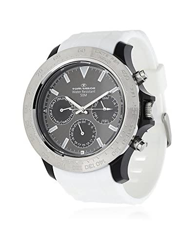 TOM TAILOR Reloj de cuarzo 5411202 Blanco 51 mm