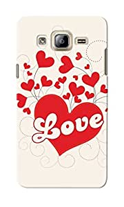 CimaCase Love Hearts Designer 3D Printed Case Cover For Samsung Galaxy On5