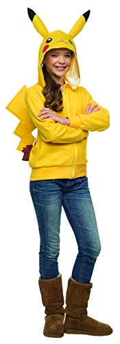 Rubie's Costume Pikachu Hoodie Costume for Tweens