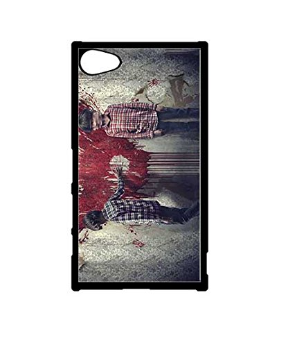 Sony Xperia Z5 Compact [NOT Z5] Custodia Case, Exclusive Type Awesome Sinister Unique Custodia Shell Skin