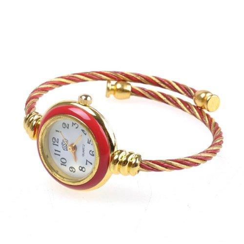 Bestdealusa Fashion Jewelry Watch Gold Rope Design Quartz Watch