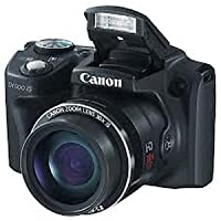 Canon PowerShot SX500 IS 16MP Point-and-Shoot Digital Camera (Black) with 4GB SD Card, Camera Case