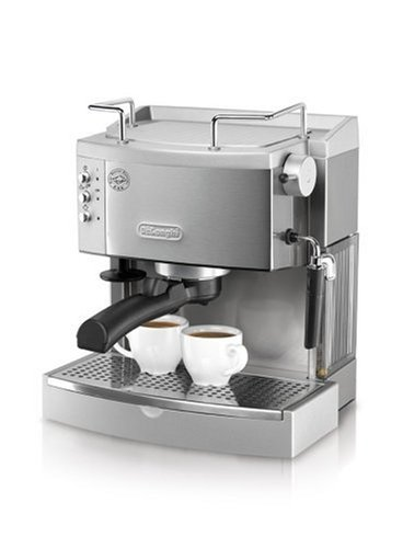 Reviews De Longhi EC710 15-Bar Espresso/Cappuccino Maker, Stainless Steel UK - espresso coffee ...