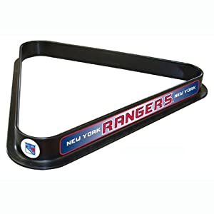 NHL New York Rangers Billiard Ball Triangle Rack