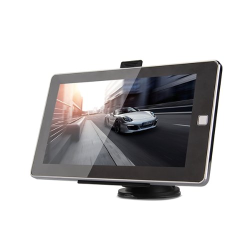 7-Zoll-TFT-Display-Auto-KFZ-RAM128MB-MTK-GPS-Navigationsgert-4GB-Ganz-europa-Map