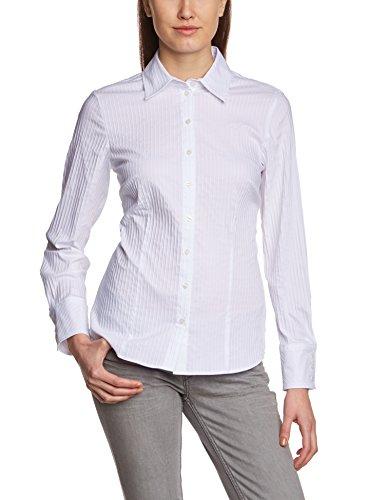 GERRY WEBER Edition - 762, Vestibilità regolare da donna,  manica lunga, bianco(weiß (weiß-weiß 9197)), taglia produttore: 42
