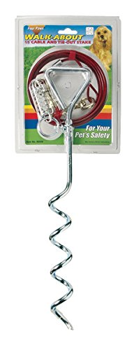 Artikelbild: Interpet 395000 Four Paws - Walk-About Spiral-Anlegepflock