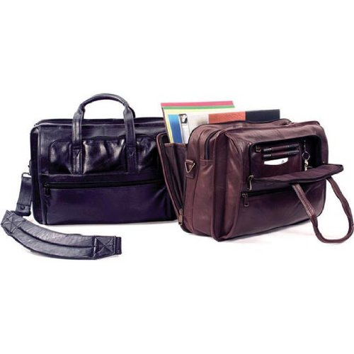Winn-Harness-Leather-Brief-with-Accordion-File-Black-Brown